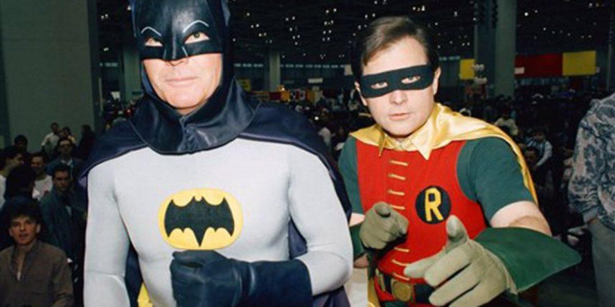 Adam West y Burt Ward retomarán papeles de Batman y Robin