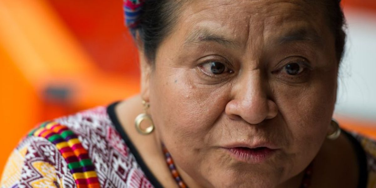 Rigoberta Menchú se suma a la campaña