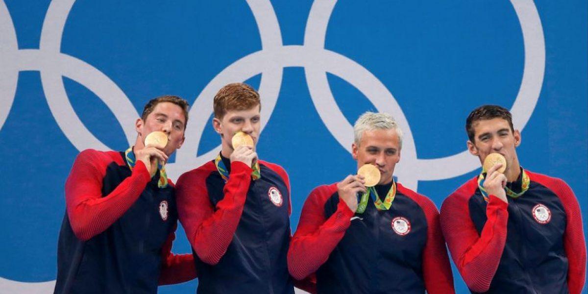 Descubren la verdad sobre escándalo de nadadores de Estados Unidos