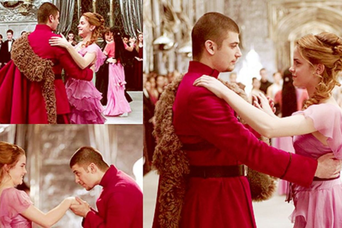 Es el pretendiente de Hermione en el cuarto libro y película de la saga. Foto:Warner