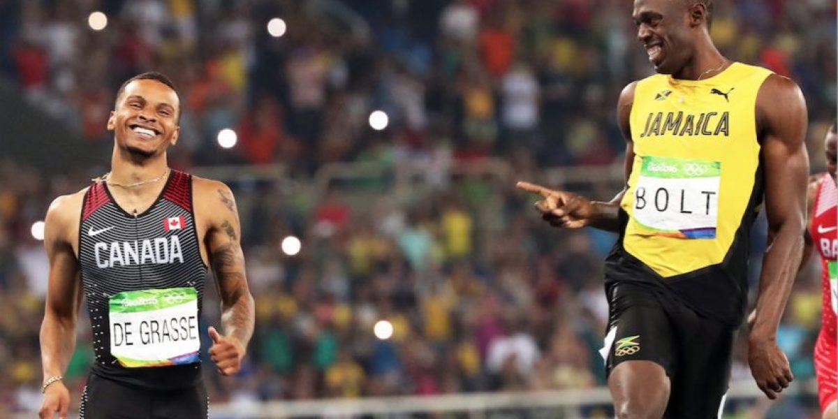 Usain Bolt confiesa qué le dijo al corredor que intentó ganarle