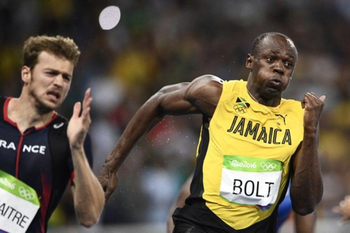 Usain Bolt se consagró como el hombre más rápido del mundo. Foto:AFP