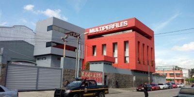"""La Policía y la Fiscalía allanan la empresa Multiperfiles por """"simular transacciones comerciales"""""""