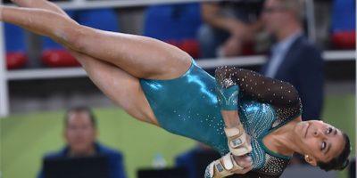 La gimnasta Ana Sofía Gómez muestra su primer tatuaje