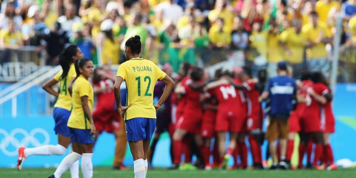 Brasil pierde y se queda sin podio en fútbol mujeres
