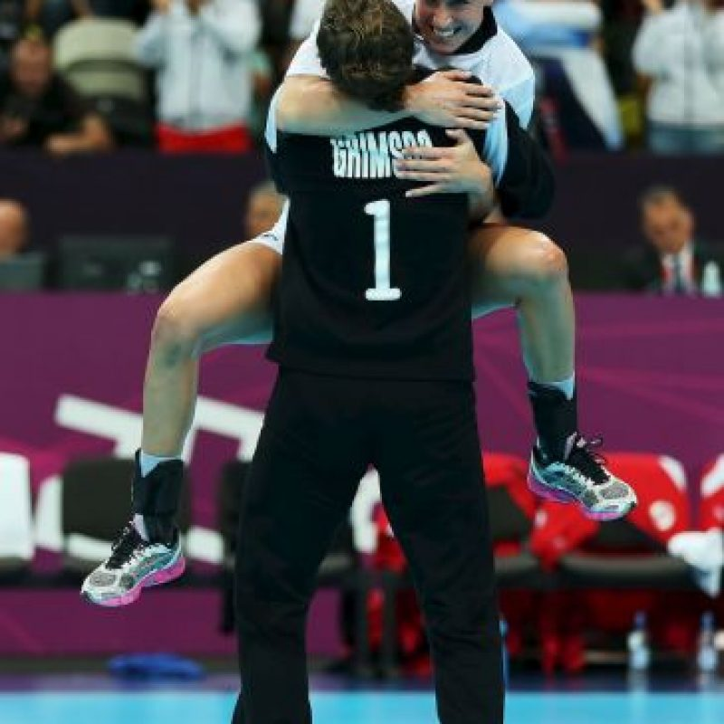 Cuatro jugadoras del equipo de balonmano de Noruega pueden convertirse en tricampeonas Olímpicas. Foto:Getty Images