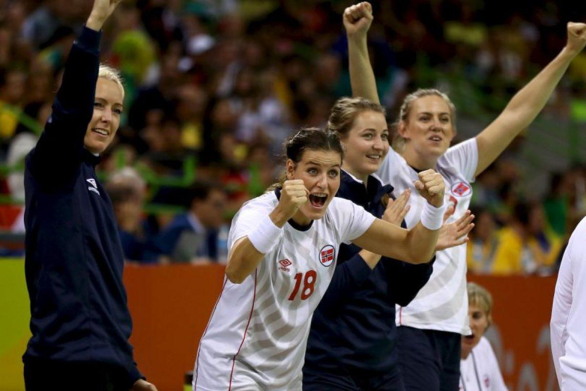 Linn-Kristin Koren, Kari Grimsbo, Marit Frafjord y Katrindoras de Lunde Foto:Getty Images