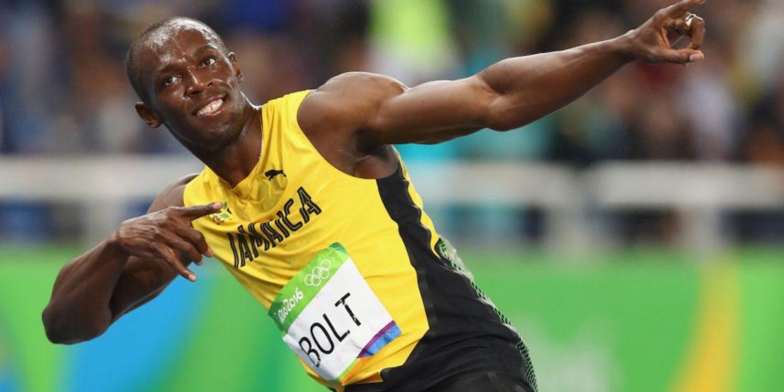 Usain Bolt busca la novena medalla de oro en Río 2016 Foto:Getty Images