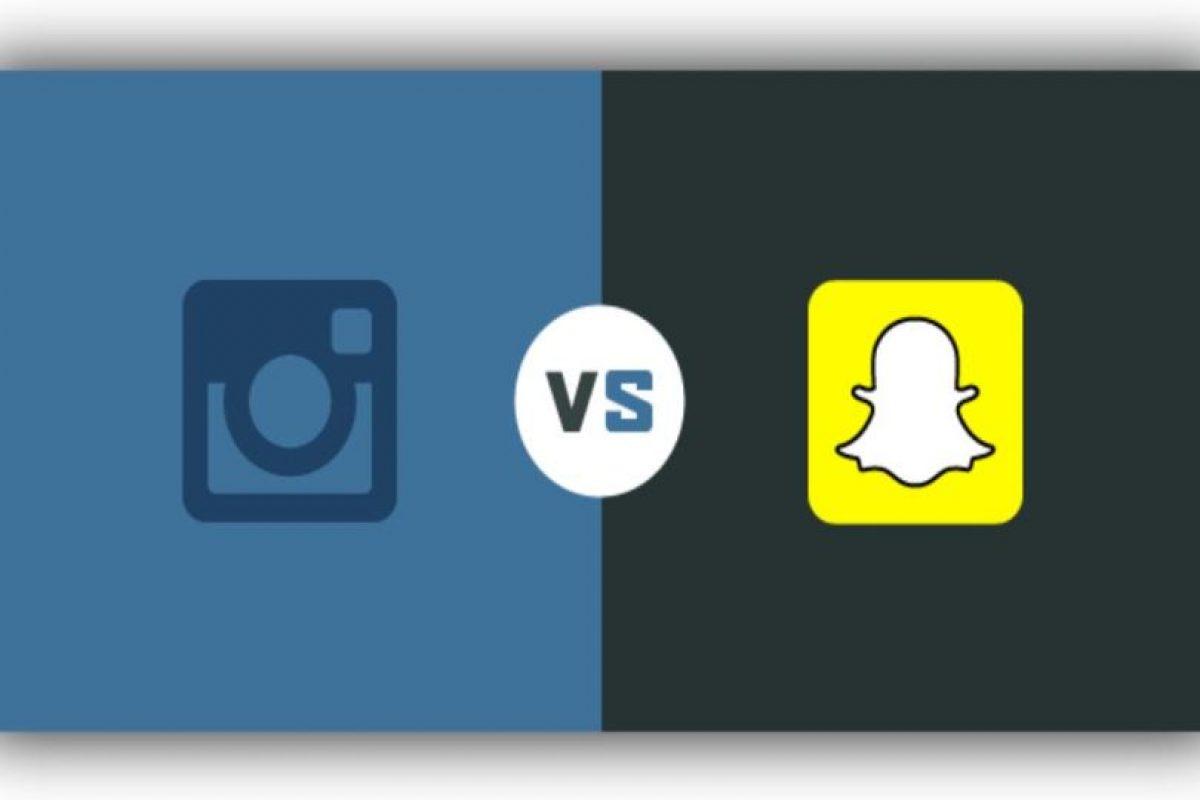 Instagram ha imitado muchas funciones de Snapchat. Foto:Tumblr