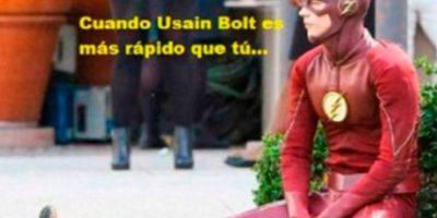 Los mejores memes del triunfo de Bolt en 200 metros Foto:Twitter