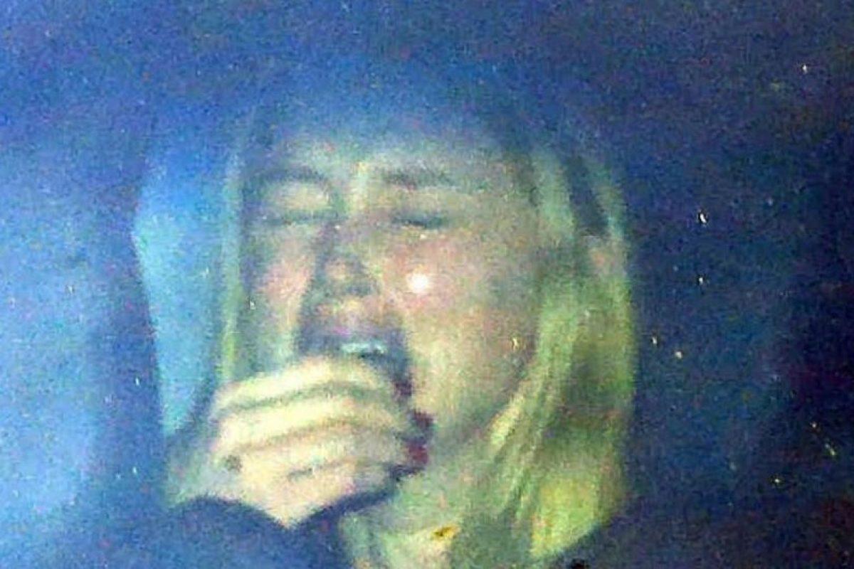 Esta fotografía fue difunida después de que ella demandara al actor en Nueva York Foto:Grosby Group
