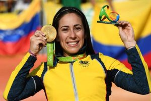 ORO: Mariana Pajón (Colombia/BMX) Foto: Getty Images