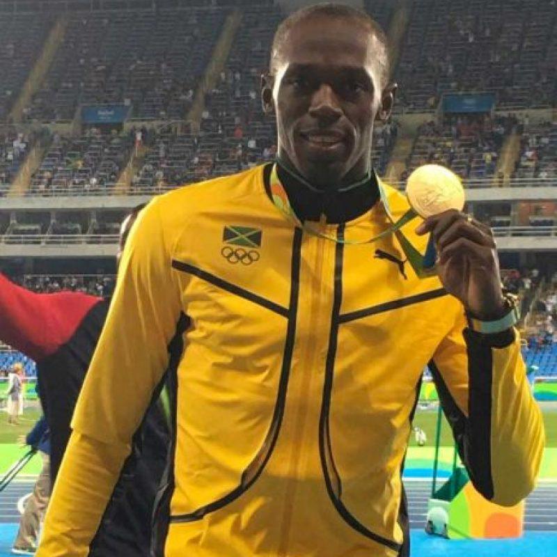 El jamaiquino llegó a nueve medallas de oro en Juegos Olímpicos. Foto:Vía instagram.com/UsainBolt