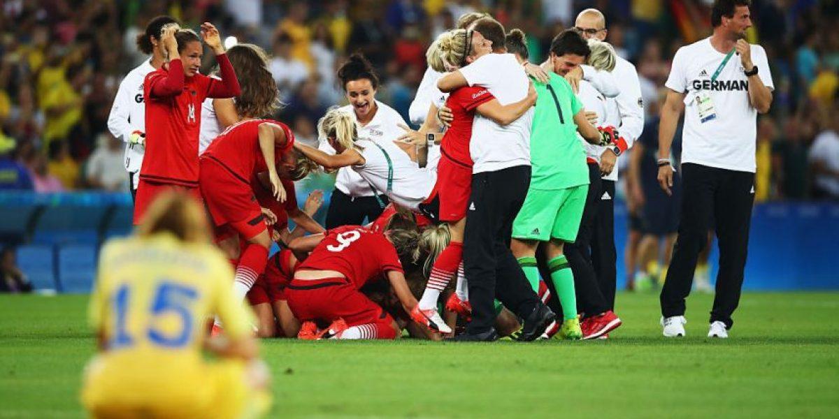 Alemania gana medalla de oro en futbol femenino en Rio 2016