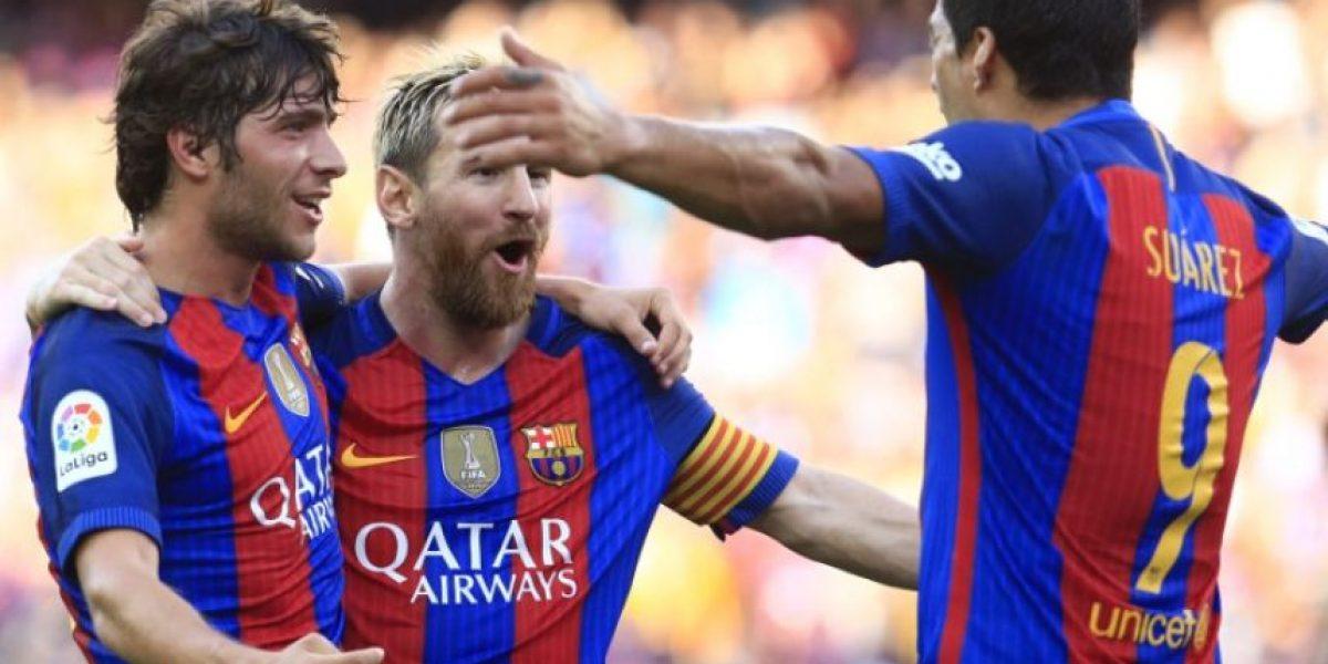 Barcelona golea al Betis con triplete y doblete incluidos