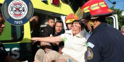 Accidente de bus urbano en calzada Roosevelt deja 25 heridos