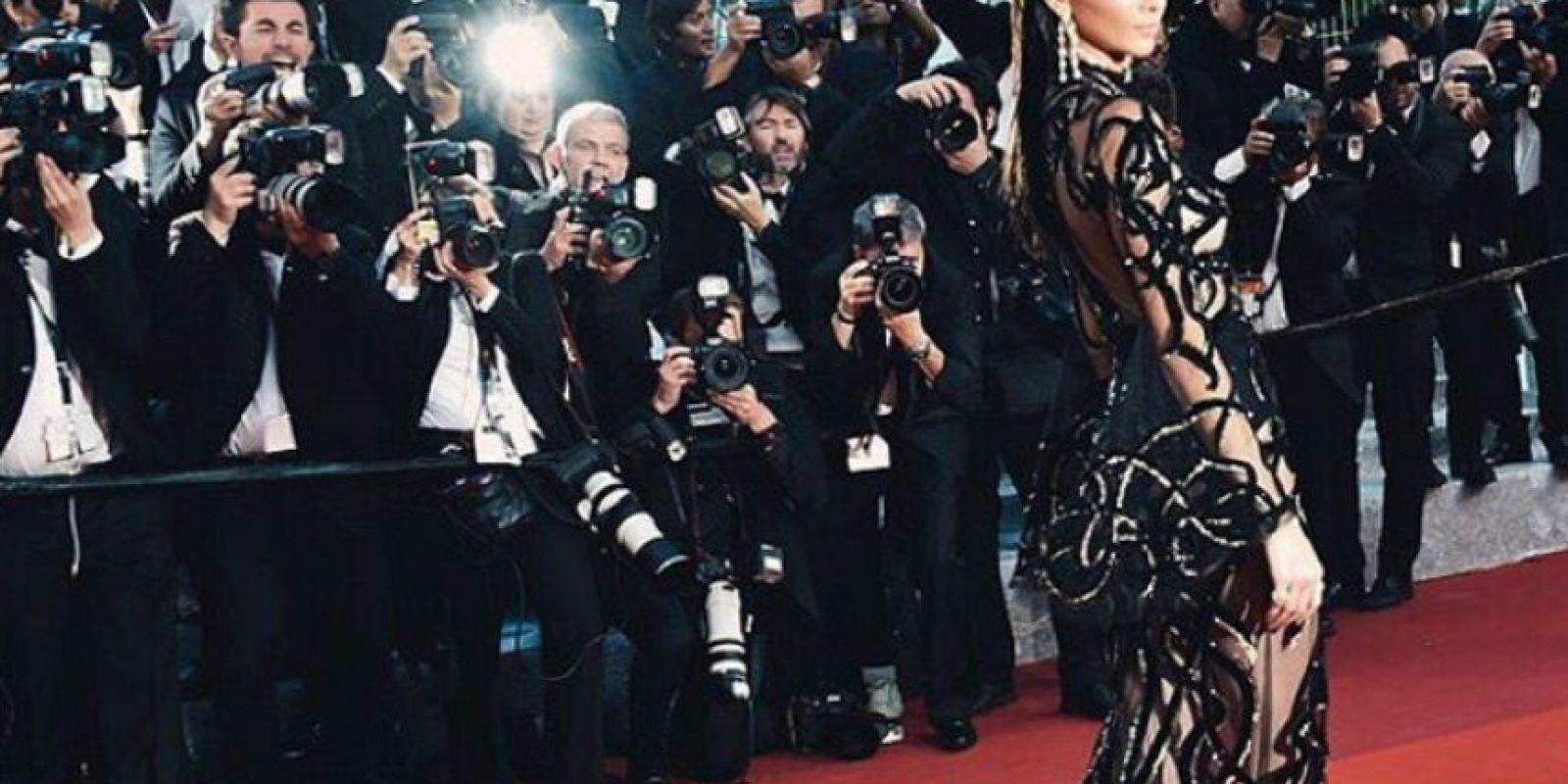Algunas no necesitan hacerlo, como Kendall Jenner. Foto:Instagram