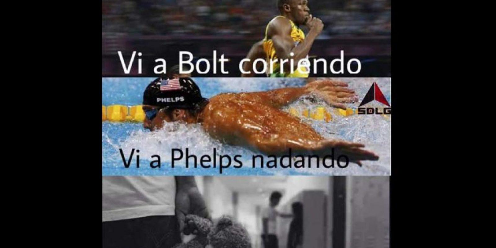 Sin duda, Bolt y Phelps fueron los héroes del torneo. Foto:Vía twitter.com
