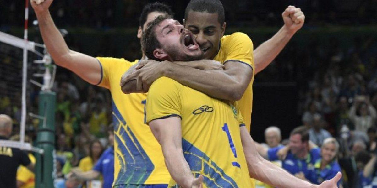 Brasil vence a Italia y conquista el oro en el voleibol masculino