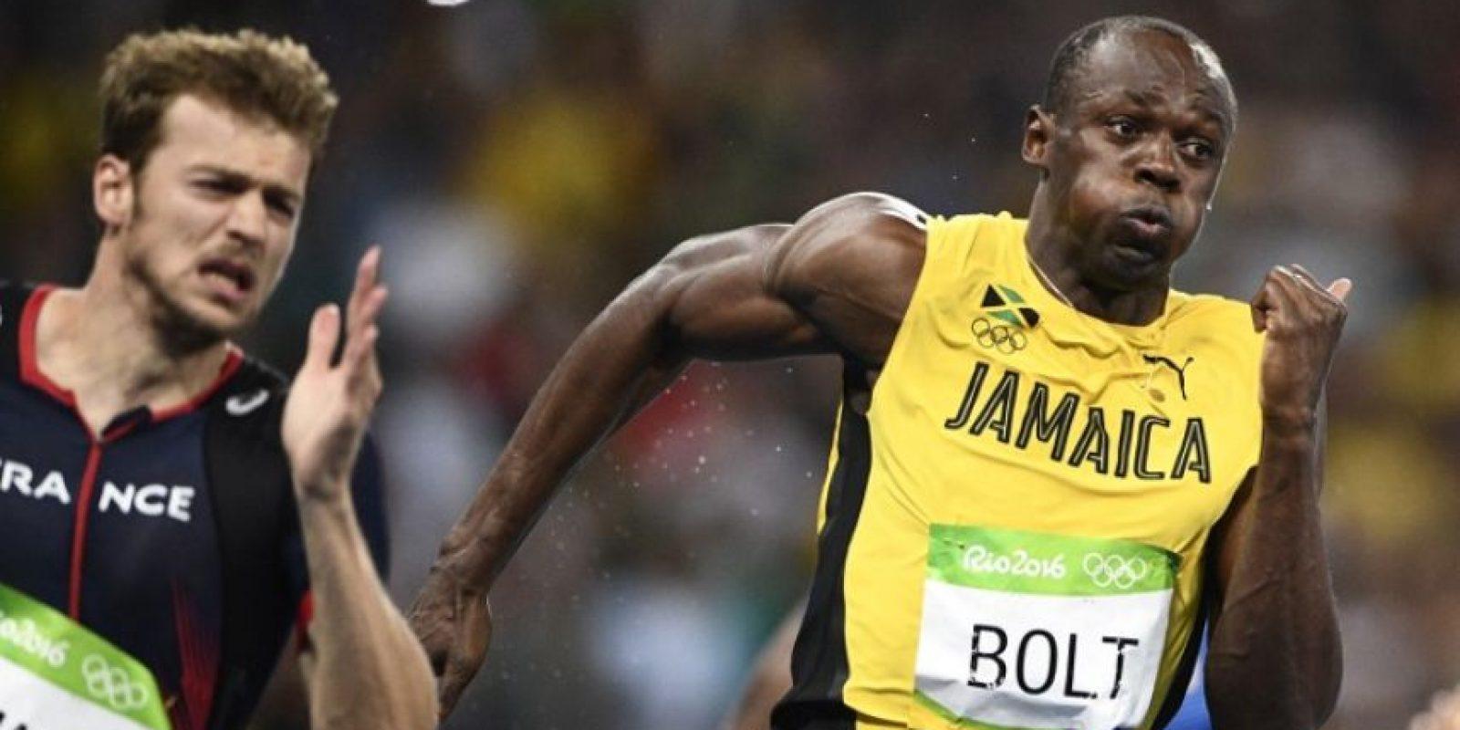 Usain Bolt se consagró como el hombre más rápido del mundo en Río 2016 Foto:AFP