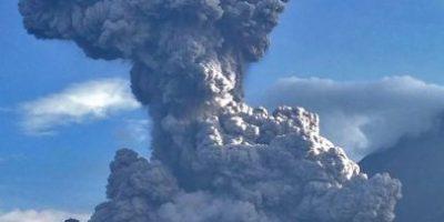VIDEO. Comparten imágenes del momento exacto de la explosión del volcán Santiaguito
