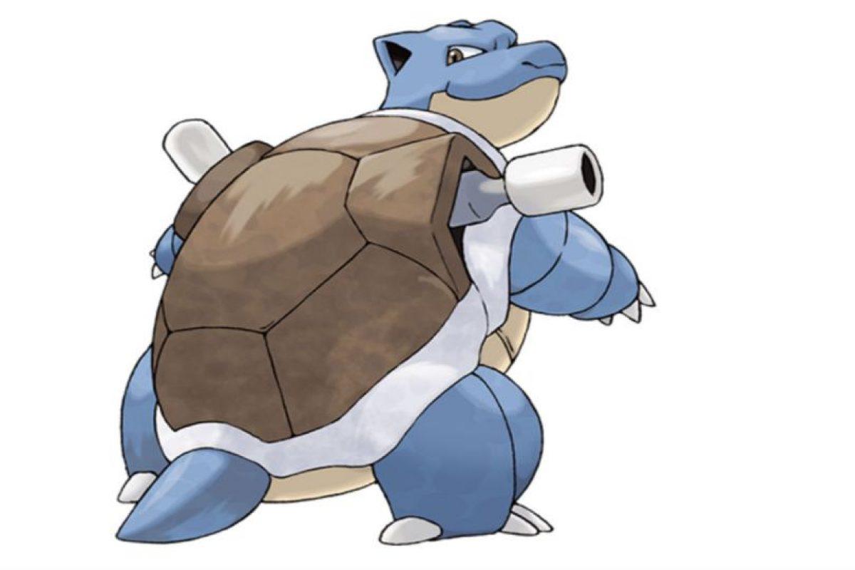 Blastoise. Foto:Pokémon
