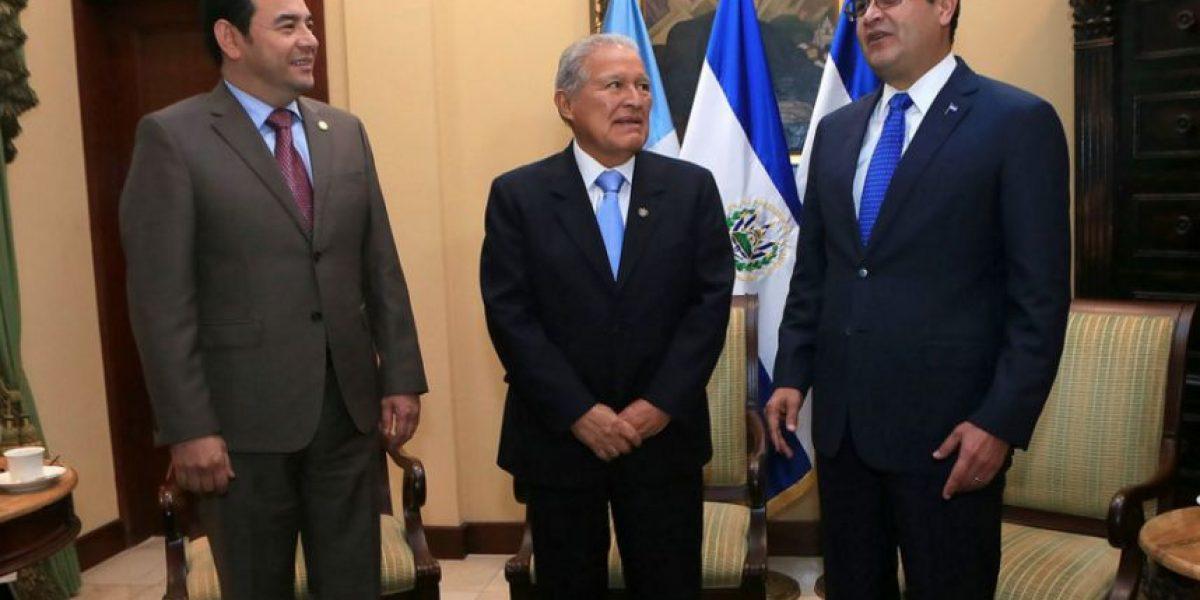 Guatemala, Honduras y El Salvador se unen contra el crimen organizado transnacional