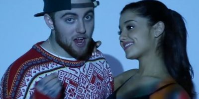 "Ariana y Mac en el video ""The Way"" Foto: Vevo"