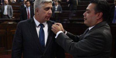 Melgar Padilla asume curul en el Legislativo y se declara inocente