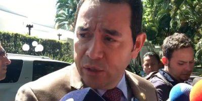 Se filtra la consulta que hizo el presidente Jimmy Morales a la Corte para crear una secretaría