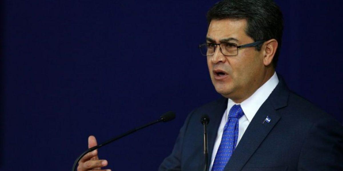 El fuerte mensaje del presidente de Honduras al crimen organizado