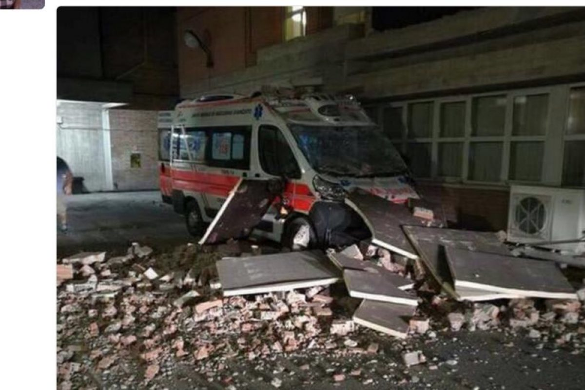 Así tuitean destrucción en pueblos cercanos. Foto:Twitter