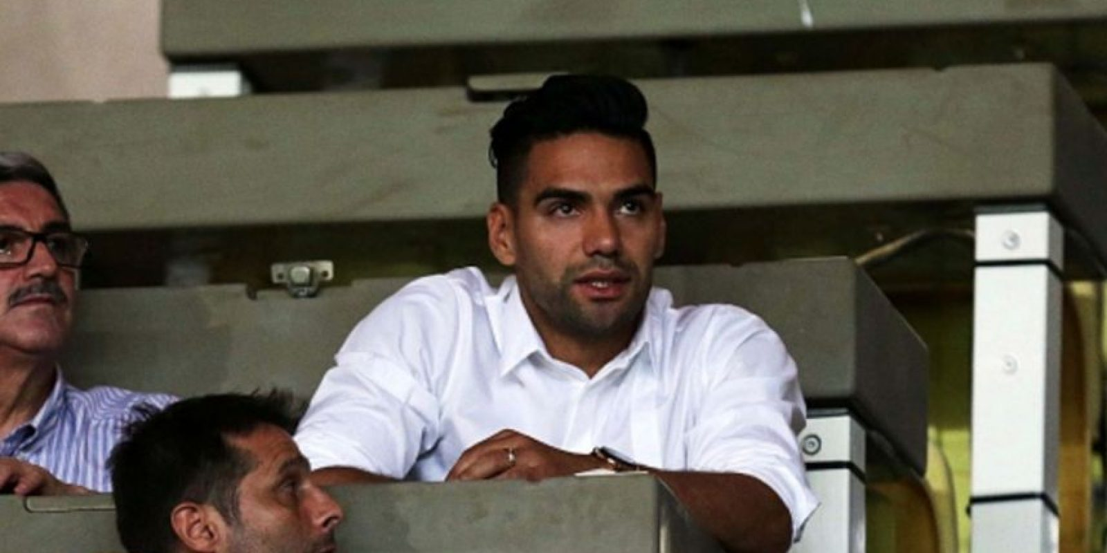 El futbolista Radamel Falcao practica la religión. Foto:vía Getty Images