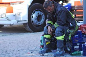 Italia trabaja para recuperarse de la catástrofe Foto:AFP