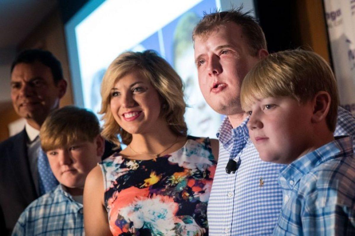 Cuenta que sus hijos no se querían acercarse a él Foto:AFP