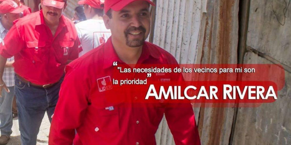A 11 meses de las elecciones, Amilcar Rivera luce un look muy diferente