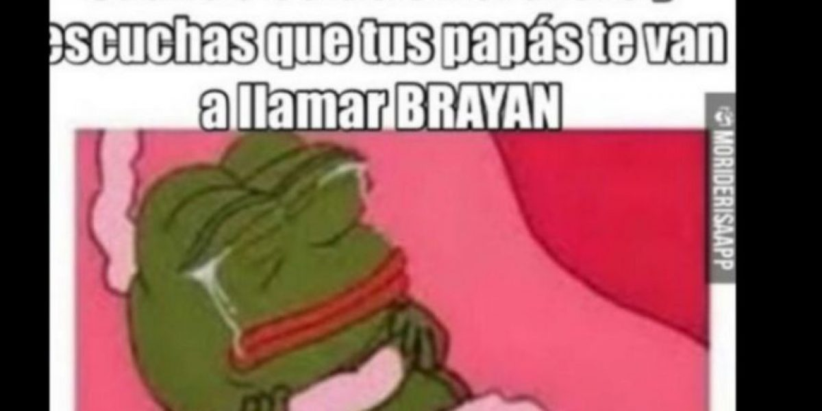 Autoridades piden no registrar a los niños como Brayan
