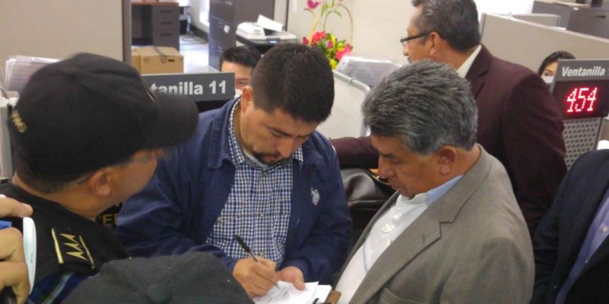 MP coordina detención del alcalde de Santa Catarina Pinula, Víctor Alvarizaes