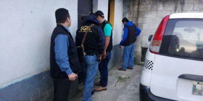 Allanan viviendas en cuatro municipios de Guatemala por casos de extorsión y asesinato