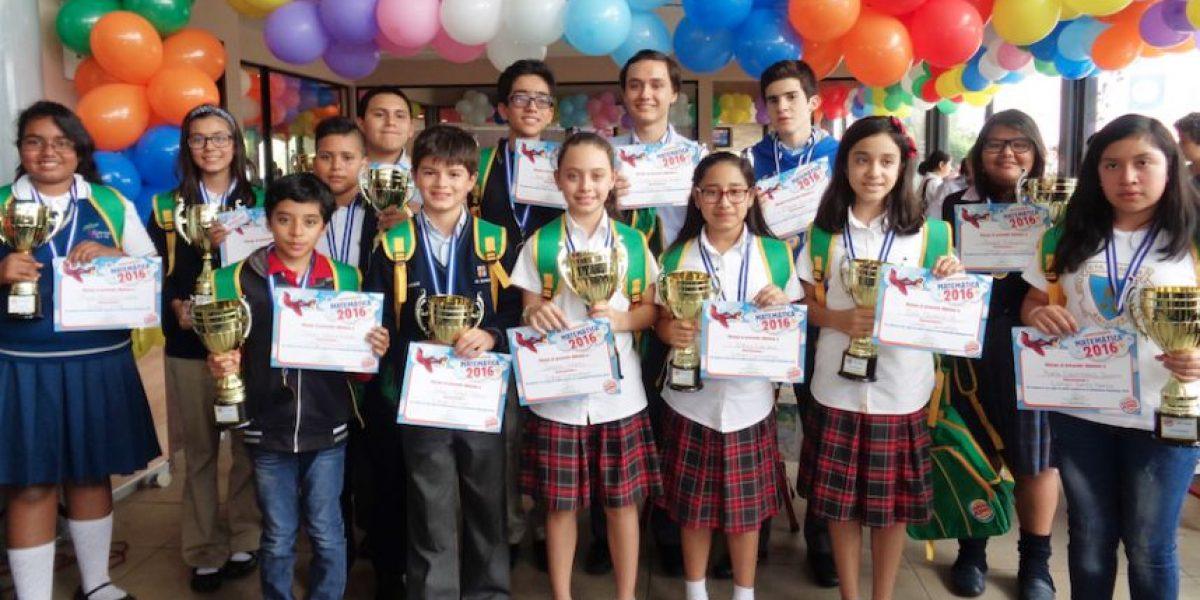 Nueva generación de guatemaltecos destaca en matemática