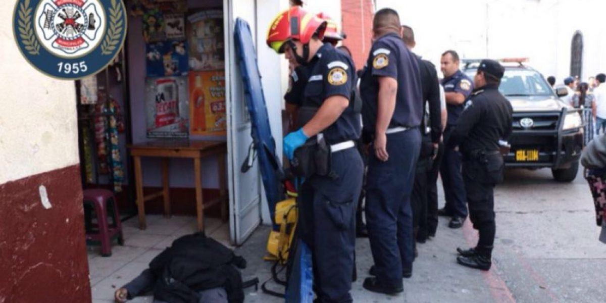 Ataque armado en la zona 1 deja cuatro fallecidos, entre ellos un guardia de Presidios y un reo
