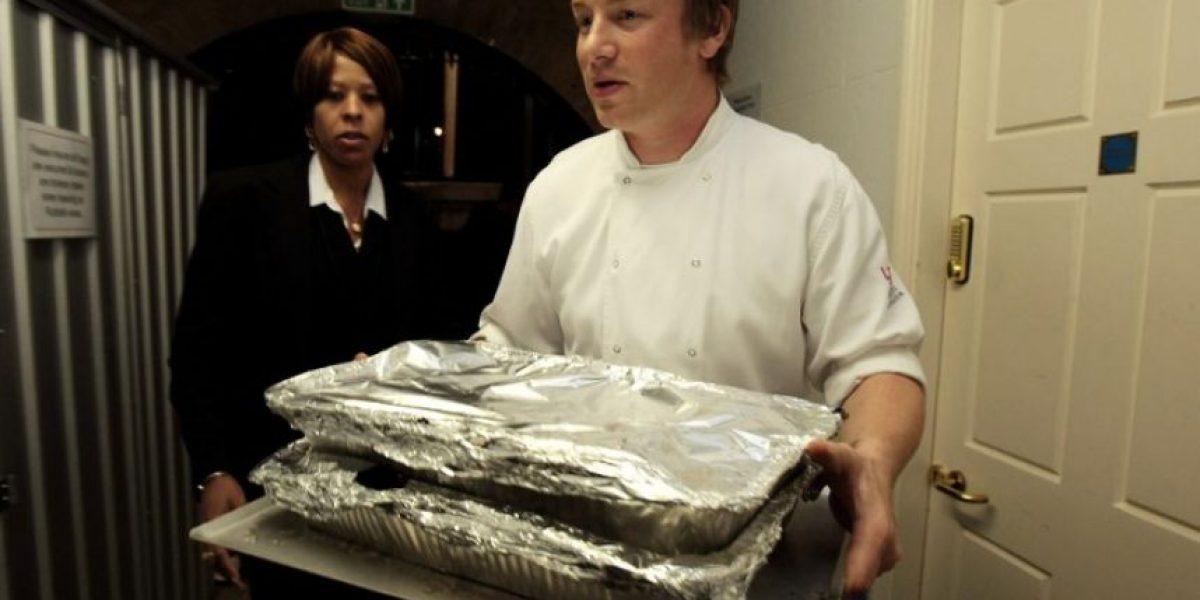 Famoso chef Jamie Oliver recauda dinero para víctimas de sismo en Italia