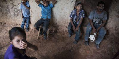 La familia García García sobrevive con escasos recursos económicos. Foto:Oliver de Ros