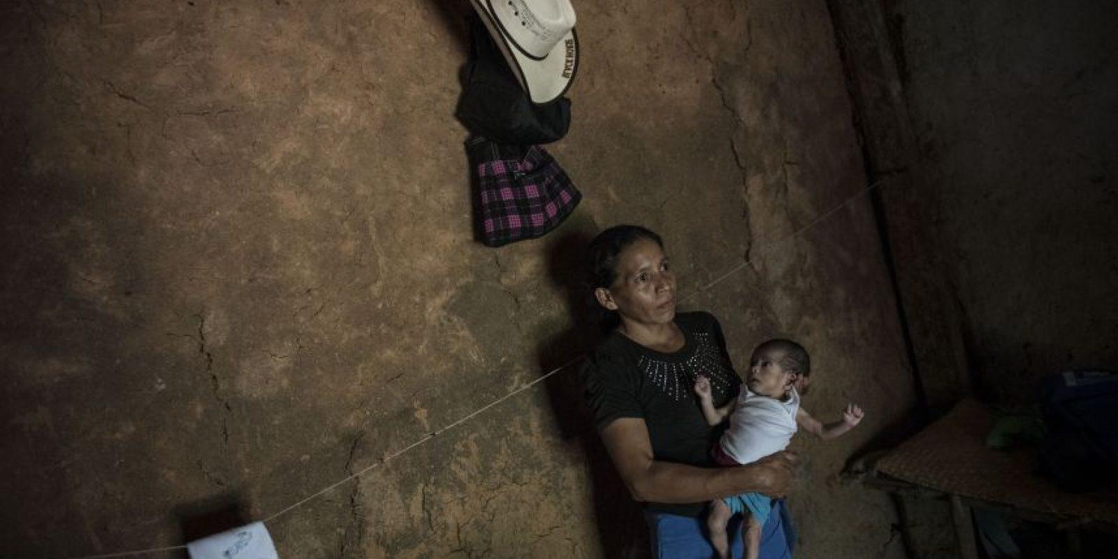 María Raquel no ha sido llevada al Centro de Recuperación Nutricional, como se recomendó en el puesto de salud Foto:Oliver de Ros