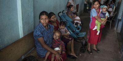 En el CRN son atendidos menores y se permite que sus madres los cuiden. Foto:Oliver de Ros