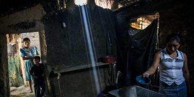 La pobreza y el riesgo de desnutrición es latente en el área rural de Jocotán y Camotán, Chiquimula Foto:Oliver de Ros