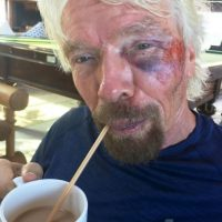 Dice sentirse agradecido de estar con vida Foto:Twitter.com/richardbranson/