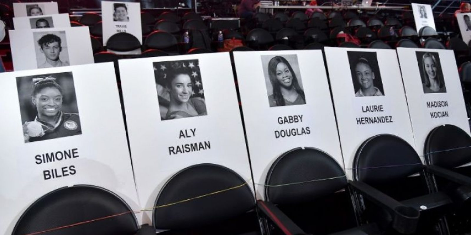 Todo listo para los MTV Video Music Awards Foto: AFP
