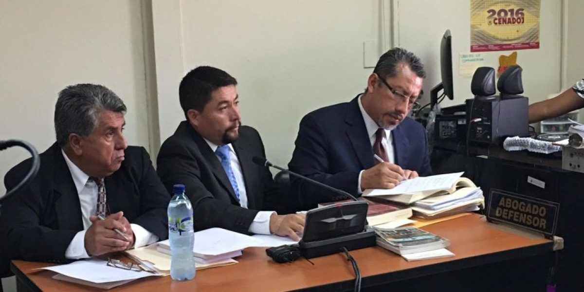 Se desarrolla audiencia contra Víctor Alvarizaes por el caso Cambray 2