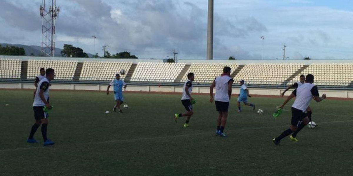 Guatemala cumple con su primera práctica en Trinidad